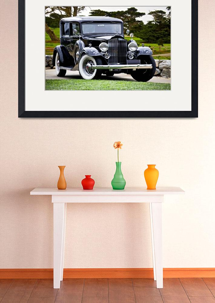"""1933 Packard Super Eight Sedan&quot  by FatKatPhotography"