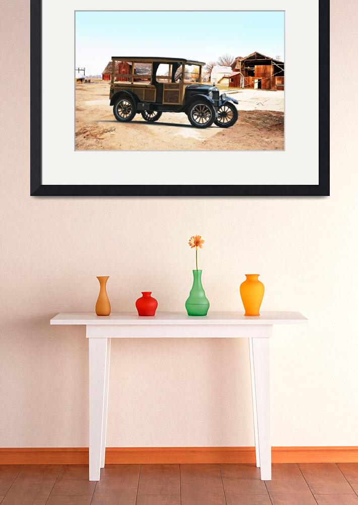 """1926 Ford Model T Utility Truck&quot  by FatKatPhotography"