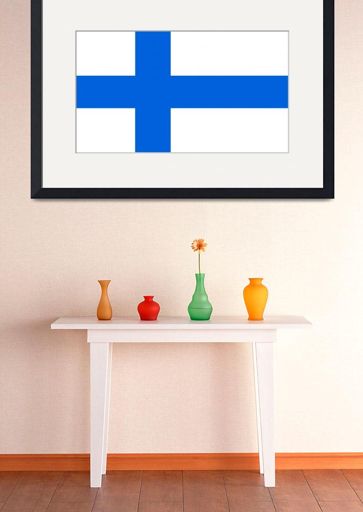 """tobias_Flag_of_Finland&quot  by ArgosDesigns"