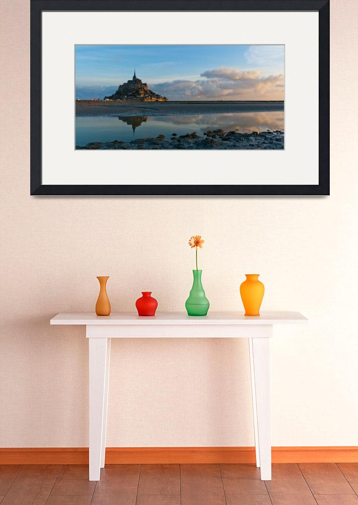 """Le Mont Saint Michel&quot  (2011) by q-bee"