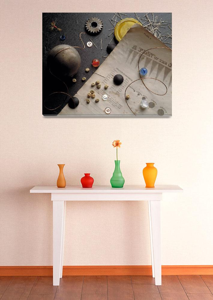 """Plan of the Solar System&quot  by jstill"