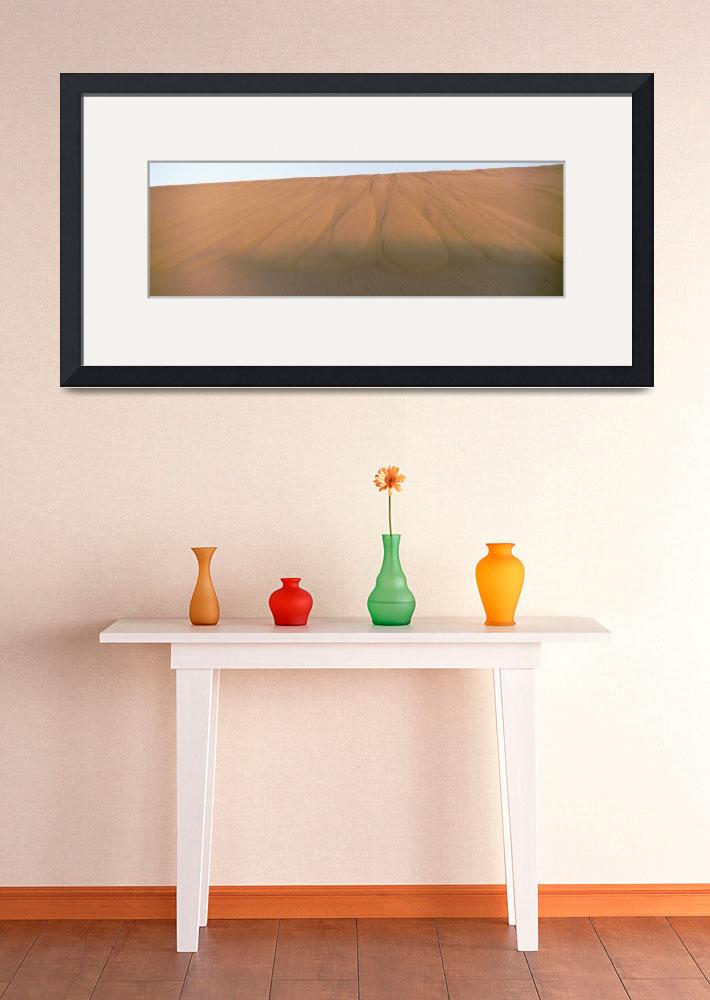 """Low angle view of a sand dune&quot  by Panoramic_Images"
