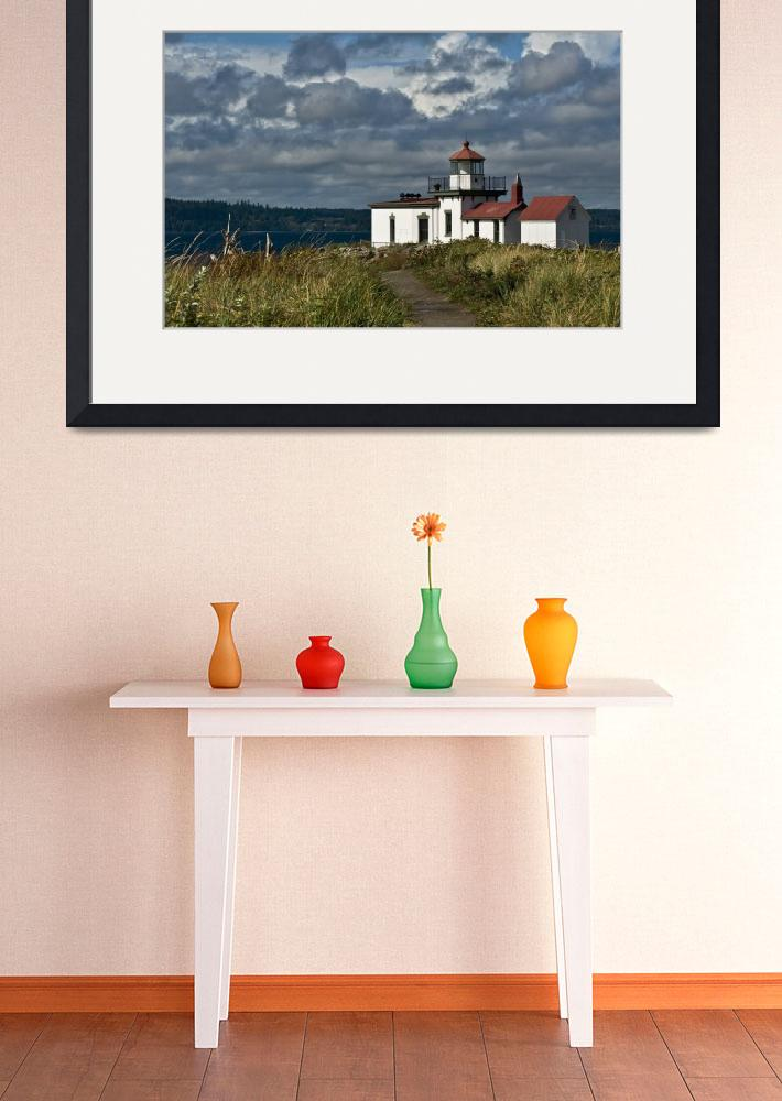 """West Point Lighthouse 2&quot  (2014) by Kirtdtisdale"