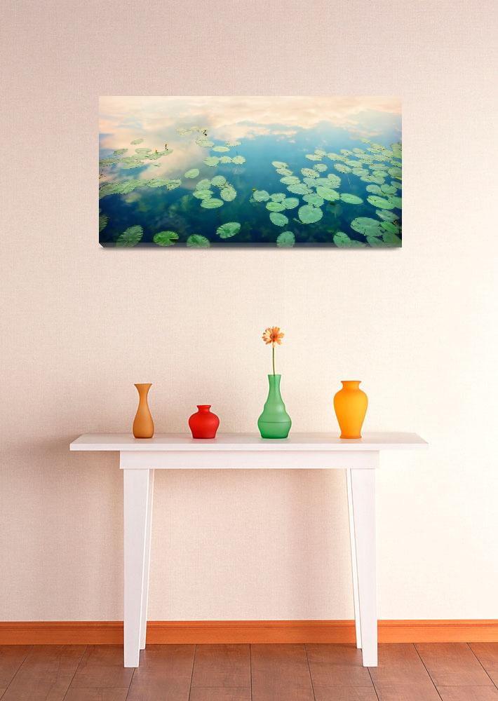 """waterlilies home&quot  by Piri"