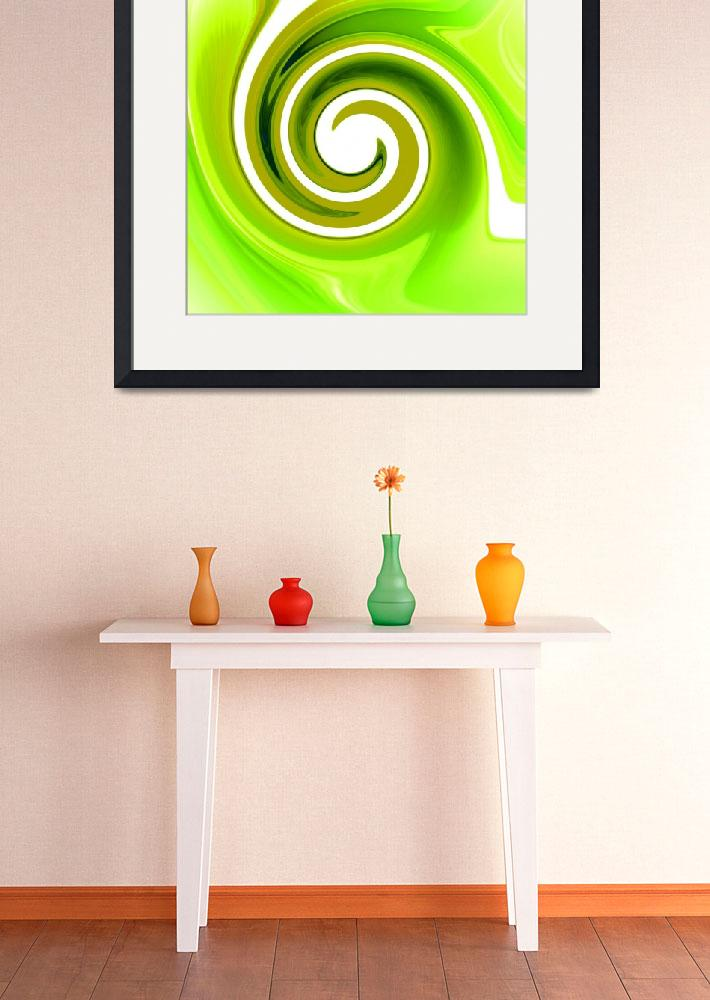 """Twisted Lime&quot  (2008) by ArtPrints"