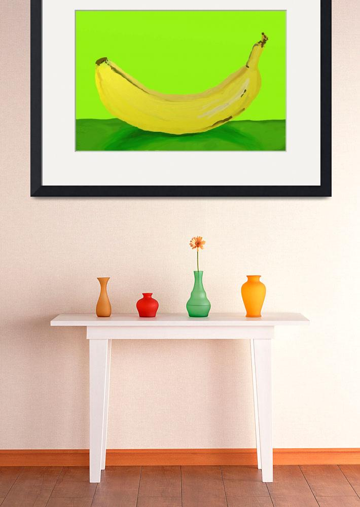 """Banana&quot  (2010) by AndreaMeyer"
