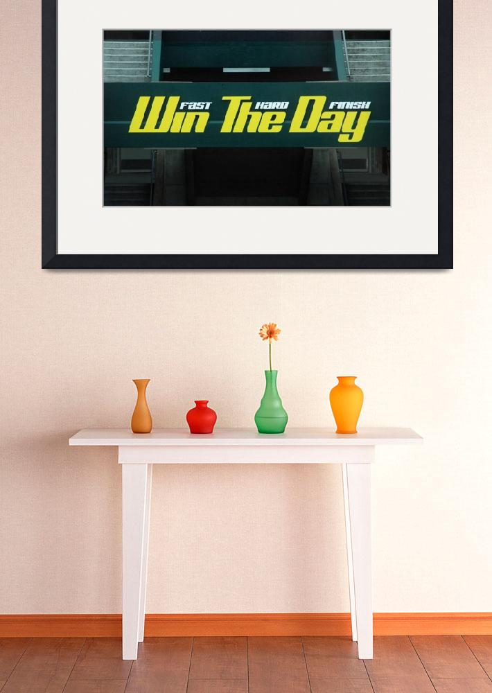 """Win The Day&quot  (2010) by netbrands"