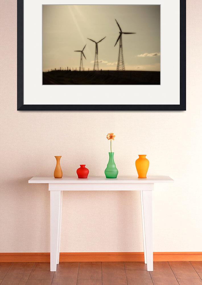 """Windmills of Iowa&quot  (2010) by Shamrick42"