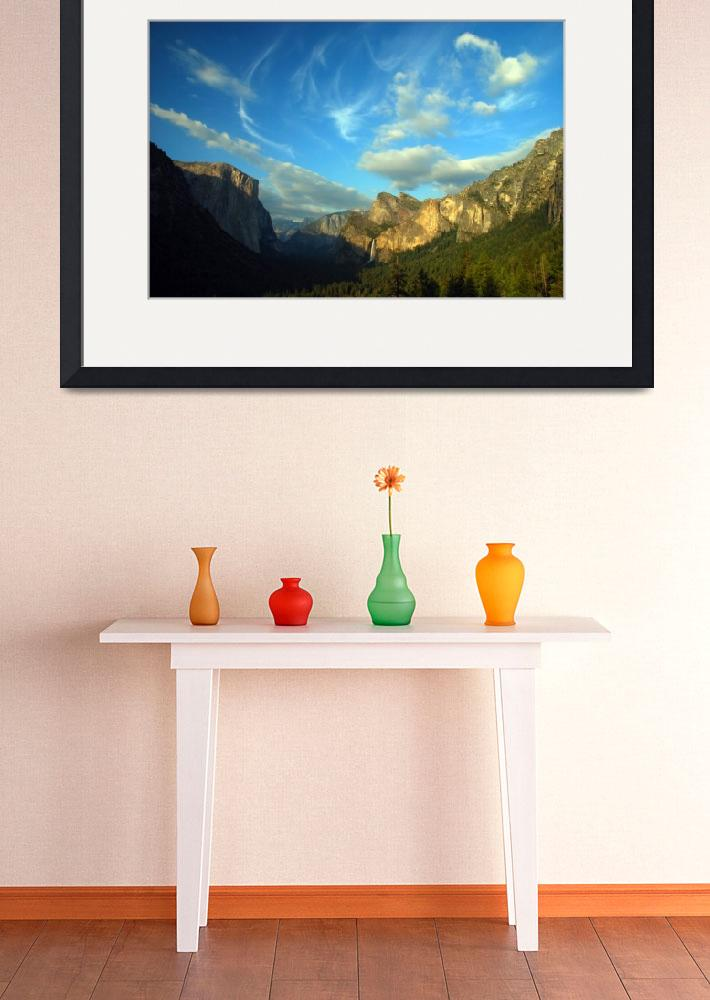 """Yosemite Valley Cloudscape&quot  (2008) by PadgettGallery"