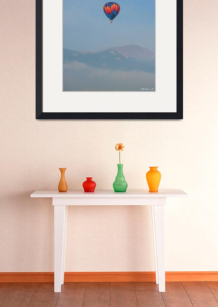 """Balloon and Pikes Peak&quot  (2010) by ralphnelsen"