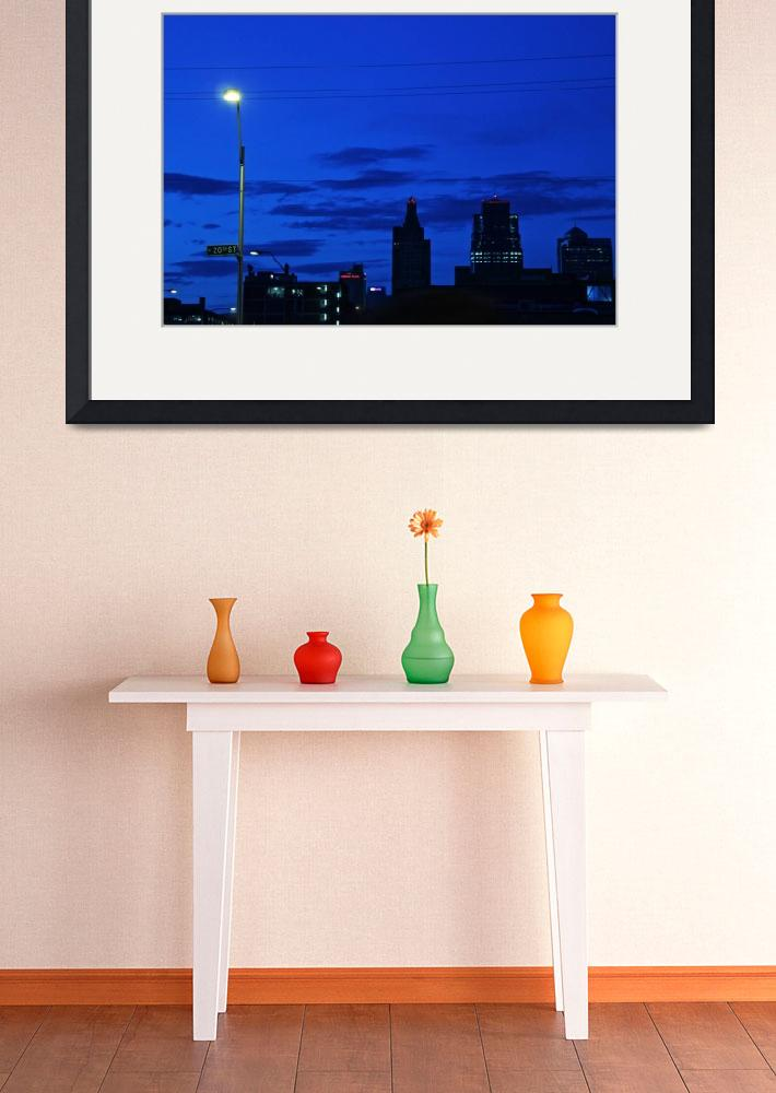 """KC Skyline&quot  by ideaproductions"