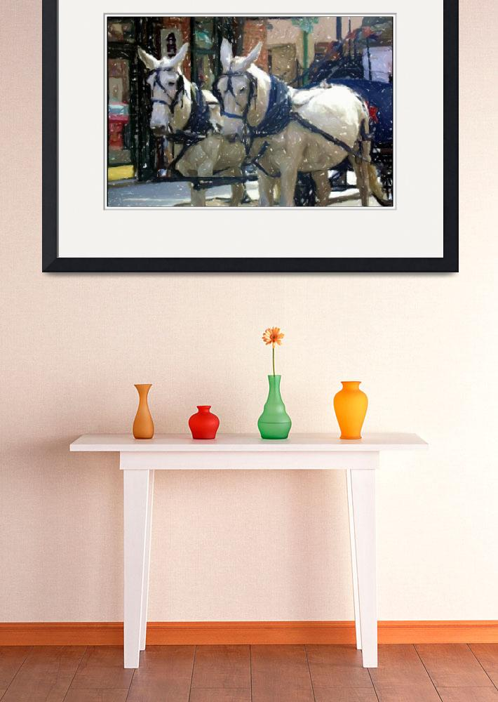 """Charleston Horses&quot  (2006) by traceywaters"