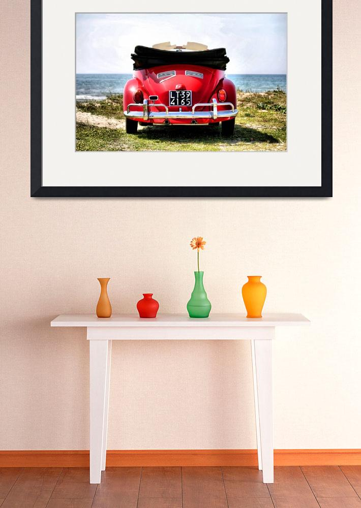 """VW on the beach - 1&quot  (2012) by getshaped"