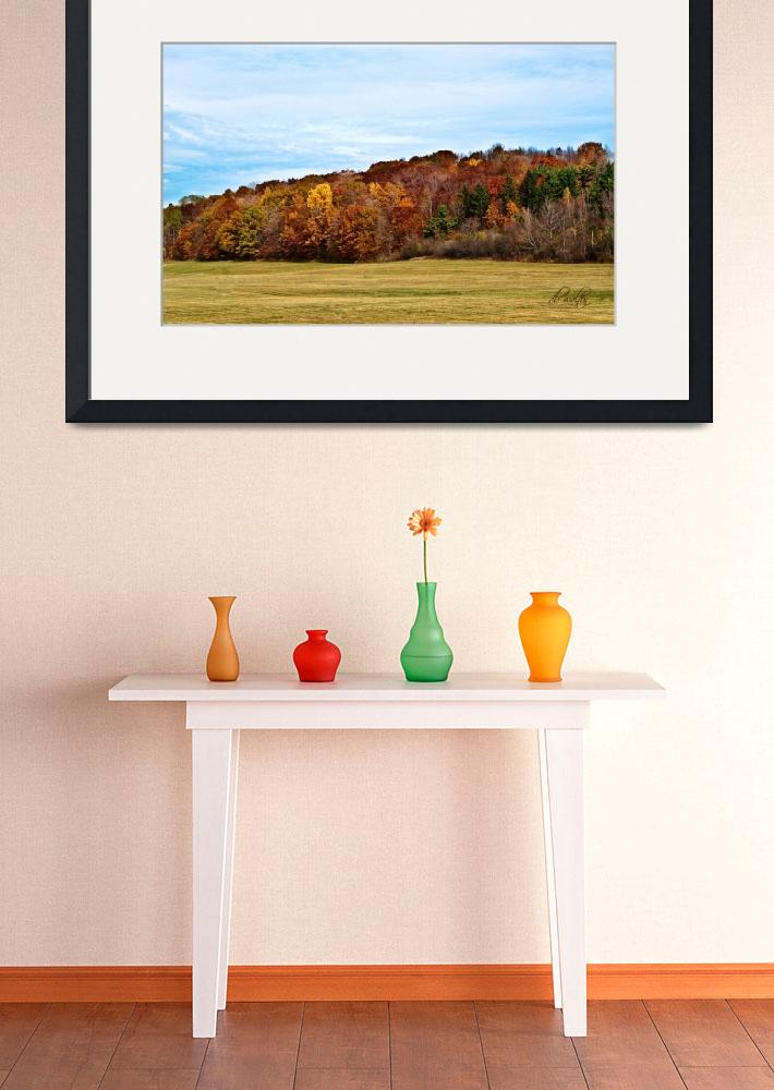 """Autumn on Hill Cumorah&quot  (2009) by dbwalton"