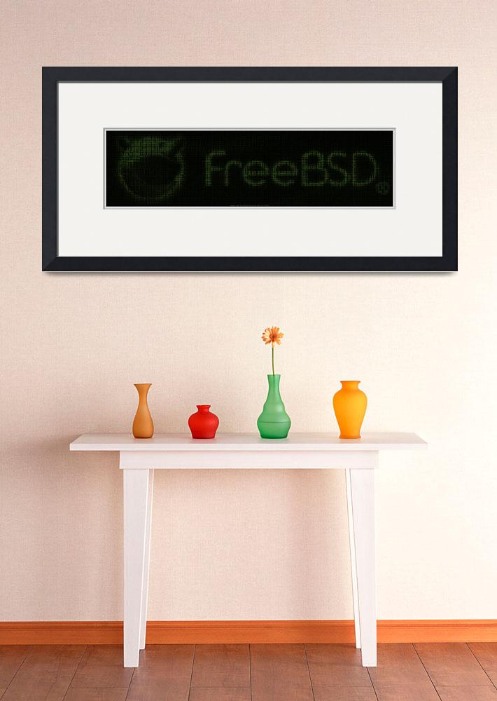 """FreeBSD Binary Poster&quot  (2010) by 0xfe"
