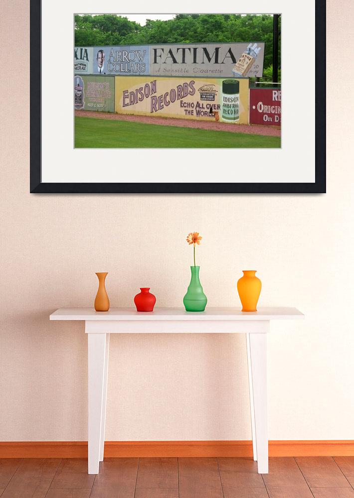 """Old Time Baseball Field&quot  (2004) by Ffooter"