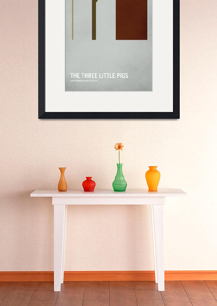 """The Three Little Pigs&quot  (2010) by squareinchdesign"