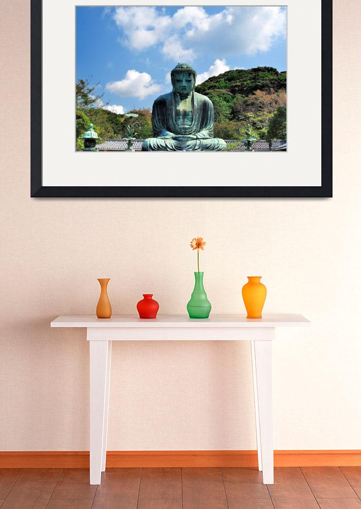 """Buddha of Kamakura&quot  (2012) by JoaoPonces"