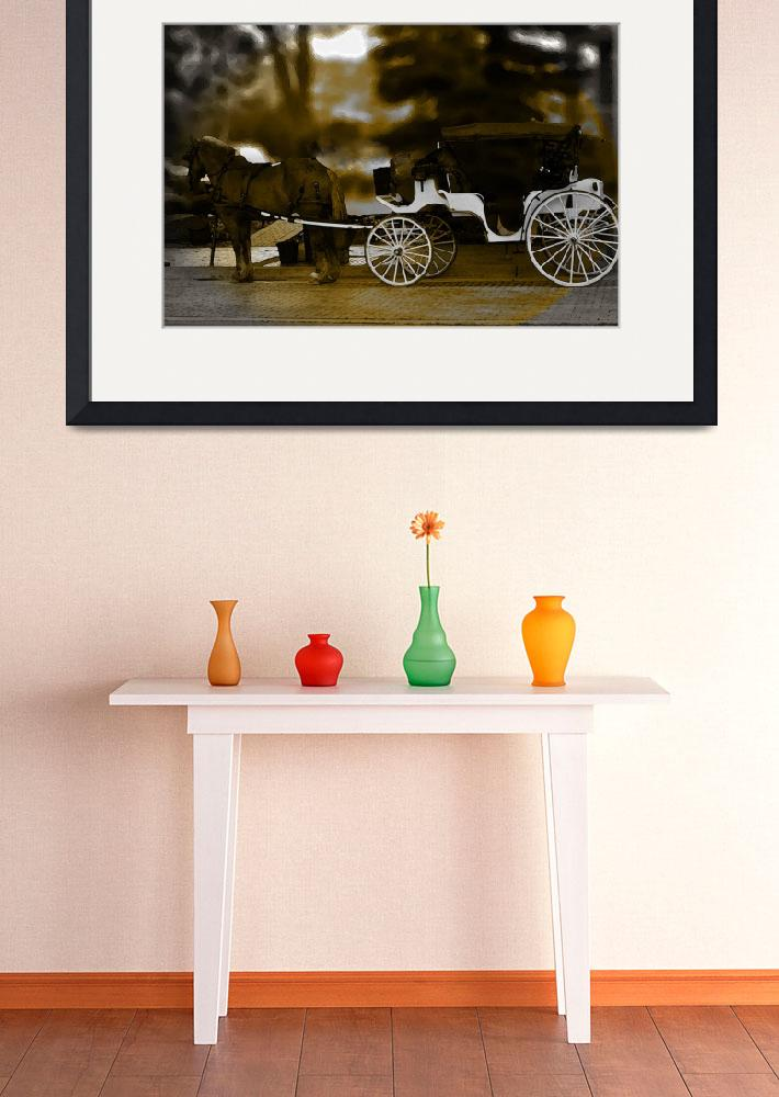 """Horse and Buggy&quot  by LJdesigns"
