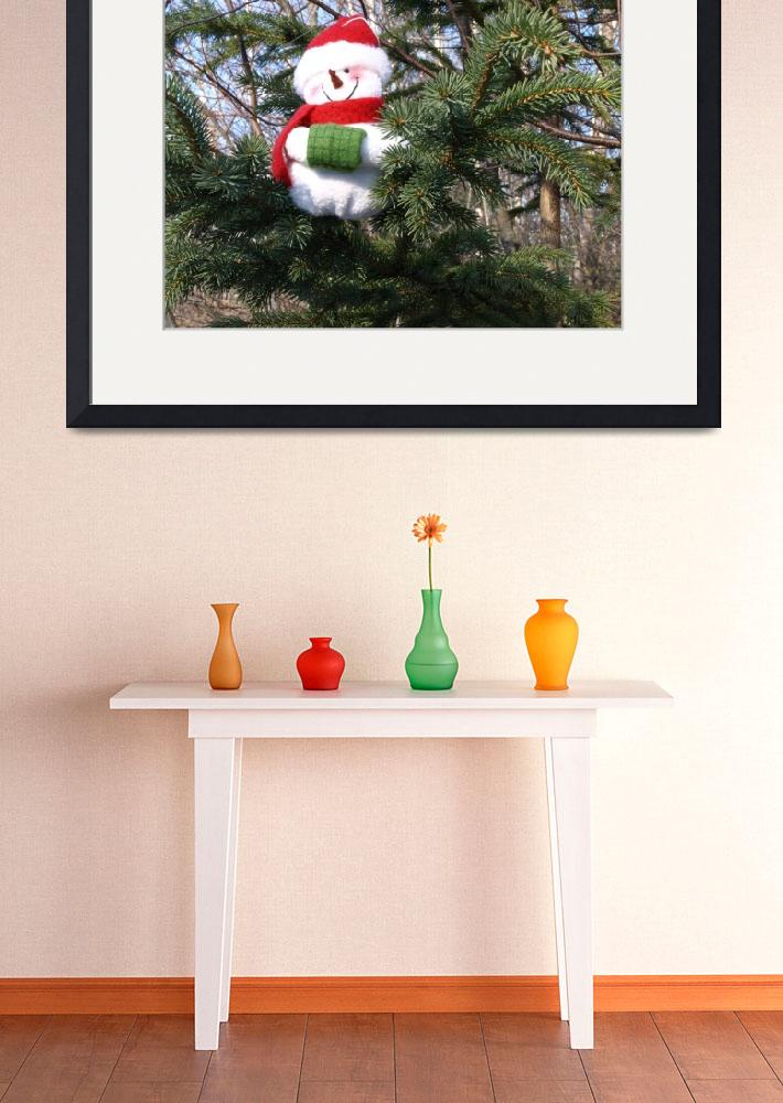 """Snowman waiting for Christmas 3&quot  (2008) by Albertphoto"