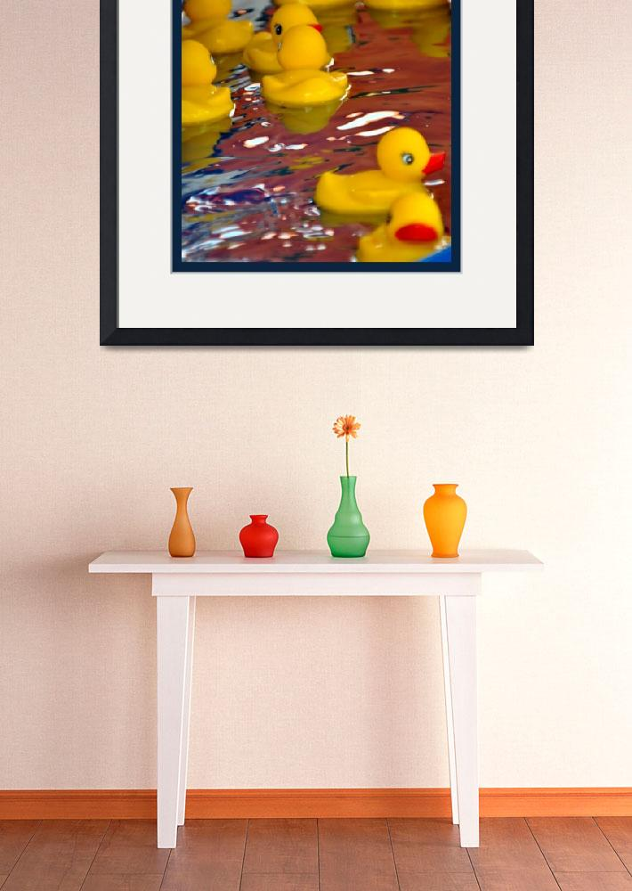 """Rubber Duckies&quot  by LauraD"