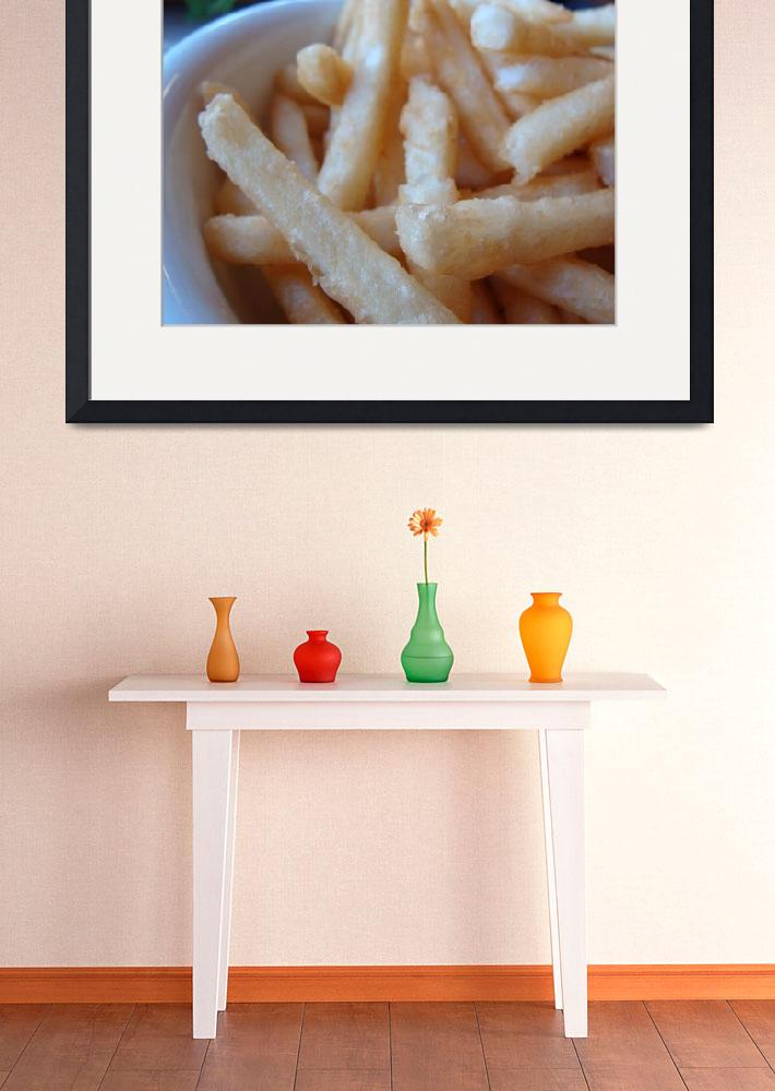"""Fries&quot  (2009) by lilysphotoland"