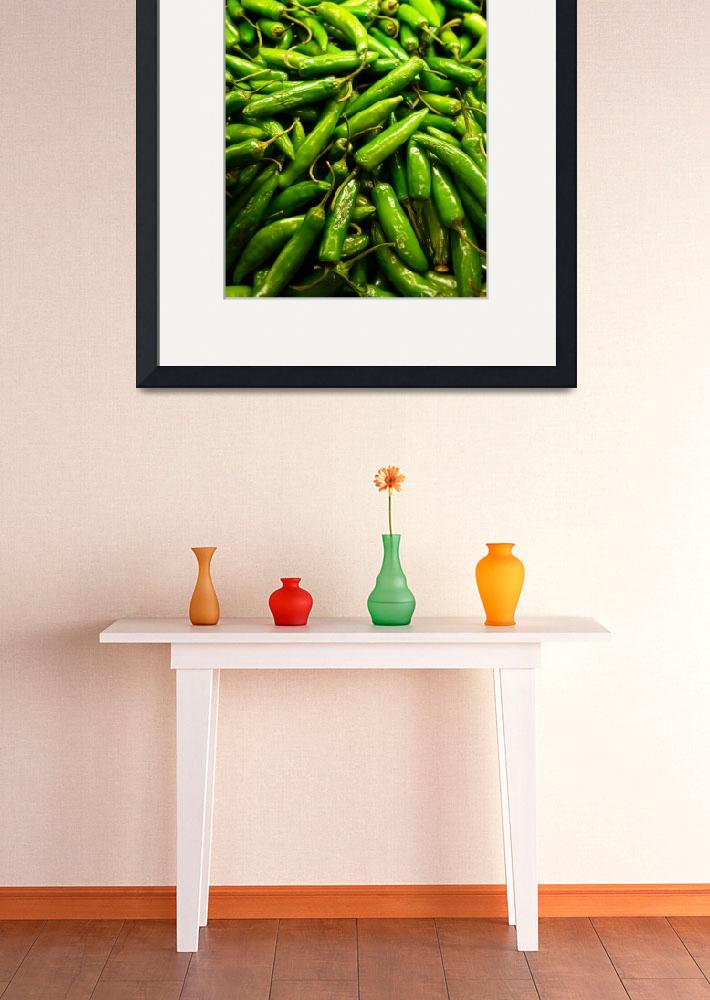 """Serrano Peppers&quot  (2014) by robertmeyerslussier"