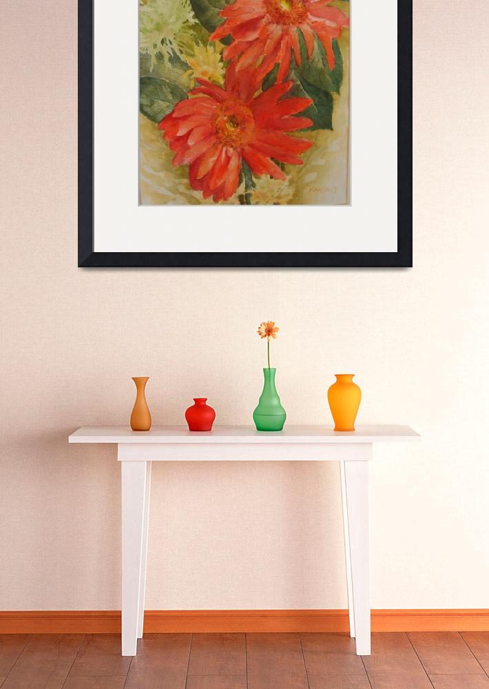 Quot Red Gerberas Quot 2011 by