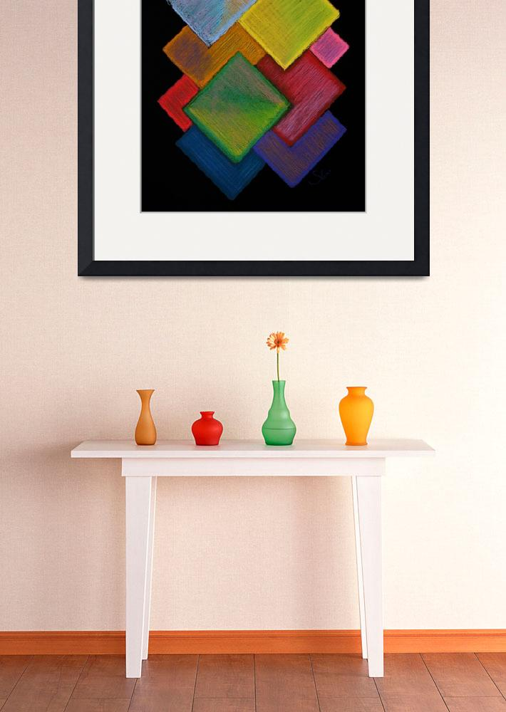 """Squared Rainbow&quot  (2009) by shana"