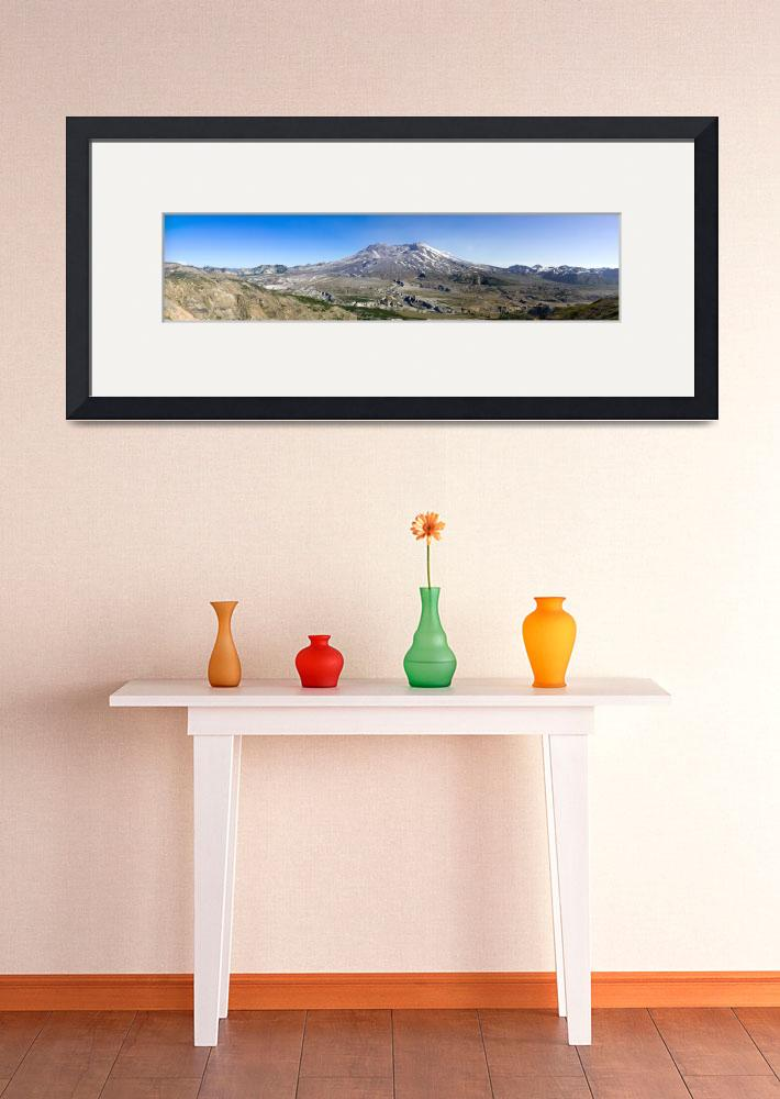 """Mount St. Helens - Panorama&quot  (2008) by nsaveski"