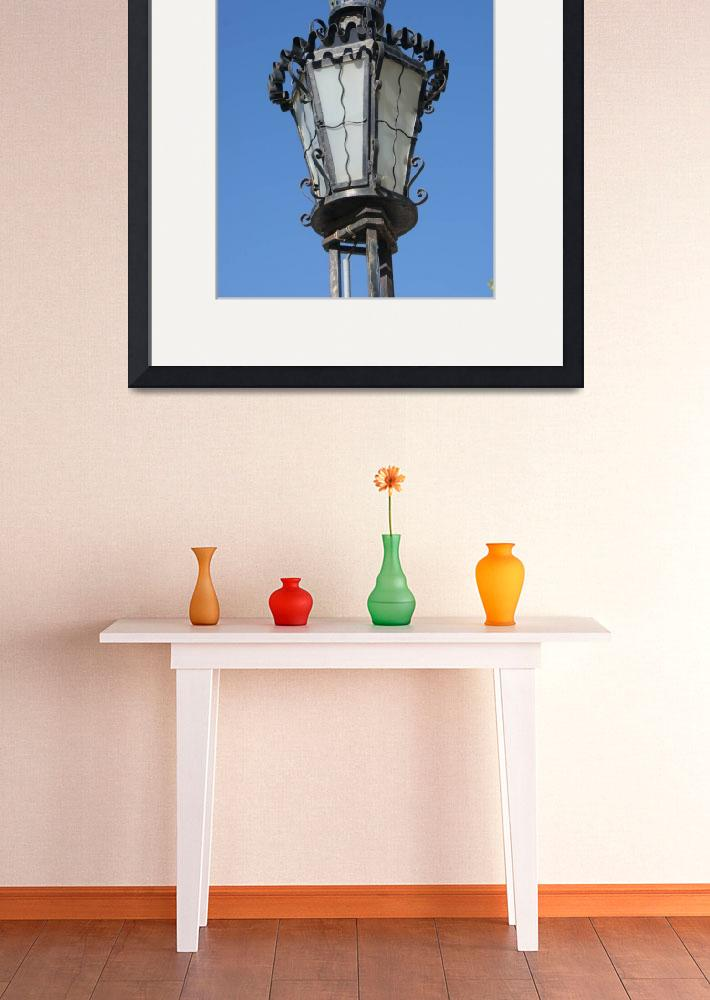 """lampstand - old faro&quot  by connorn"