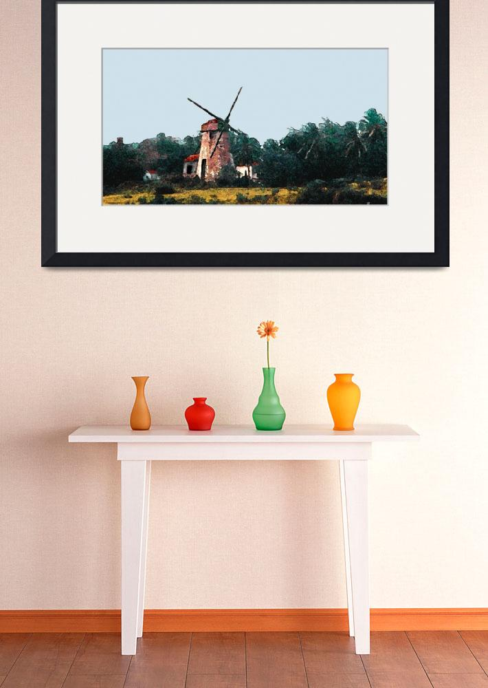 """Barbados Windmill&quot  (1996) by ralphnelsen"