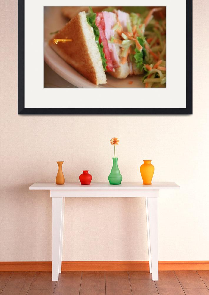 """Triangle sandwich&quot  (2010) by easyfigure"