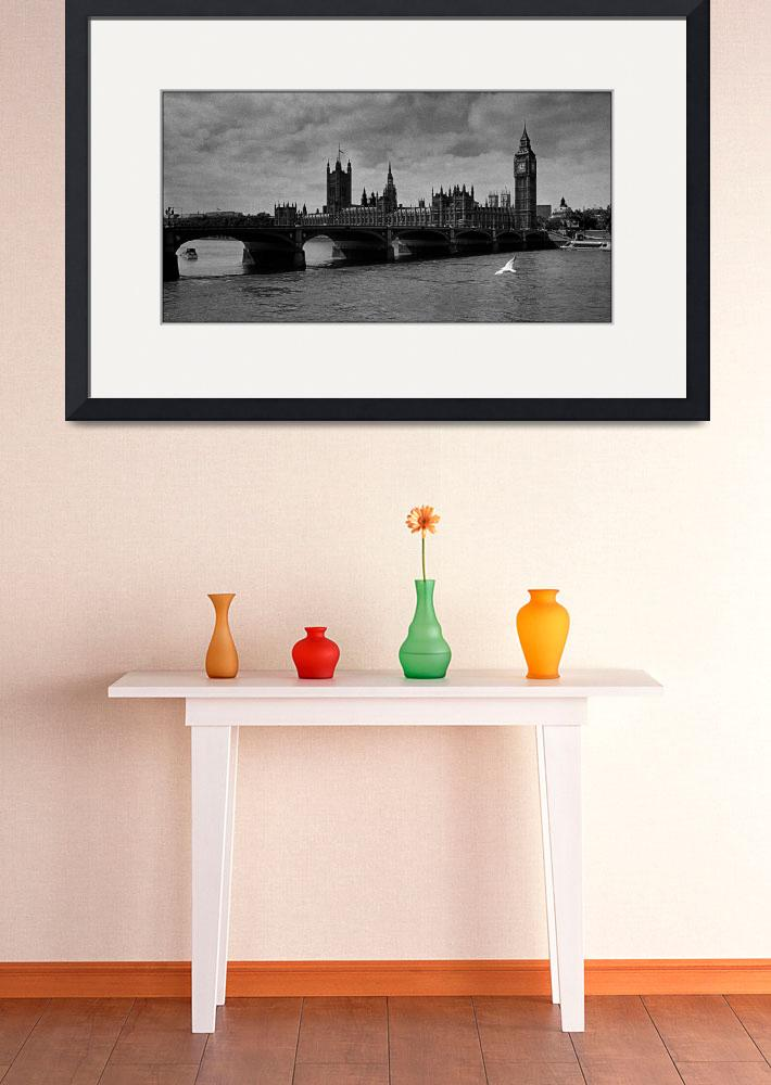 """Westminster Palace, London&quot  by Aldo"