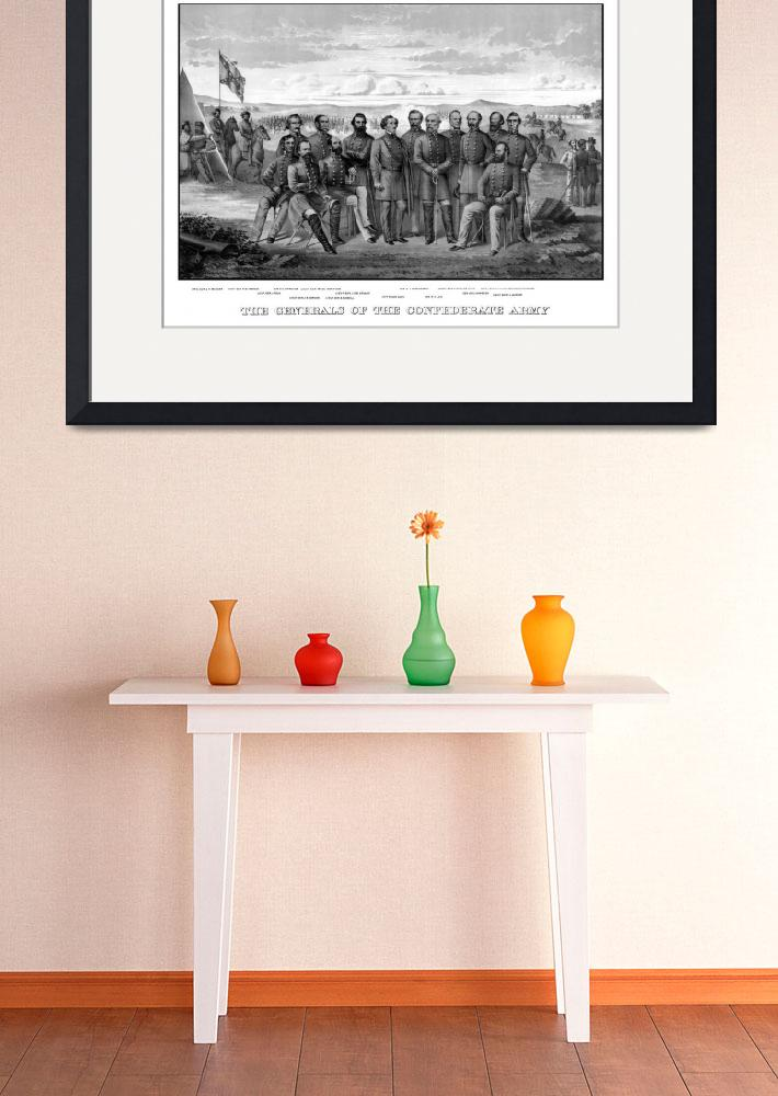 """Vintage Civil War print featuring sixteen of The C&quot  by stocktrekimages"
