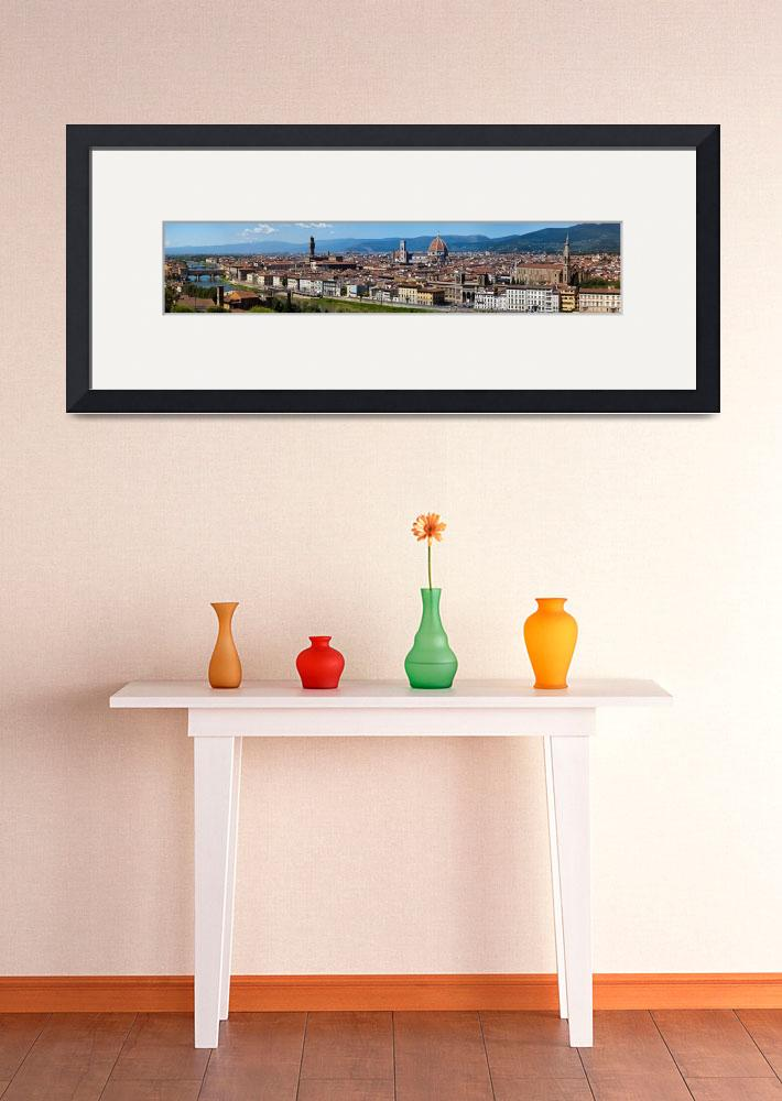 """Florence Panorama&quot  (2011) by cristiano"