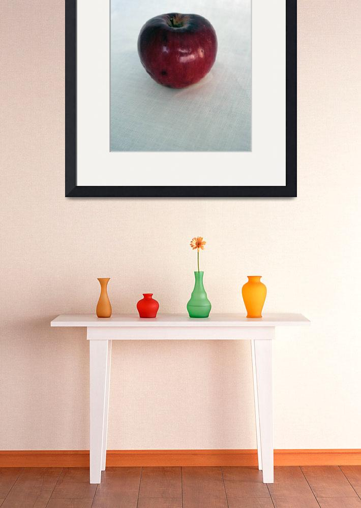 """Red apple&quot  (2012) by predrag"
