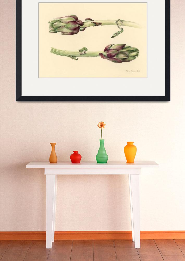 """Artichokes by Alison Cooper&quot  by fineartmasters"