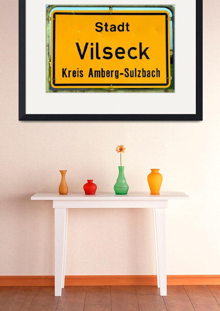 """You are Now Entering Vilseck Up Close and Personal&quot  by Artsart"