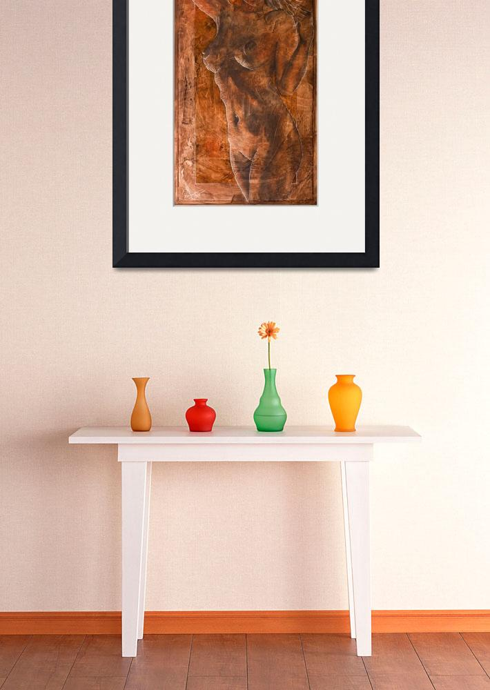 """Angel In Process_IV&quot  (2008) by HoedlGicleeFineArtPrints"