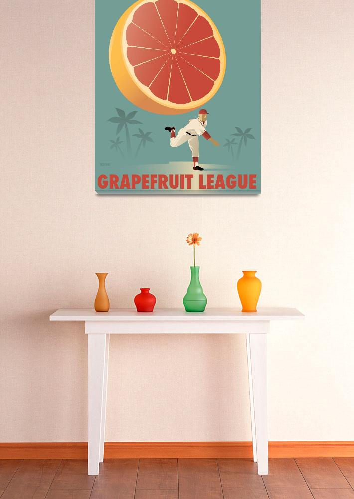 """Grapefruit League&quot  by johnwtomac"