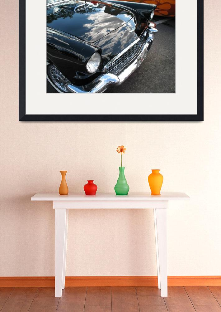 """Classic Car 1958 Ford Thunderbird in Black&quot  (2009) by garthglazier"