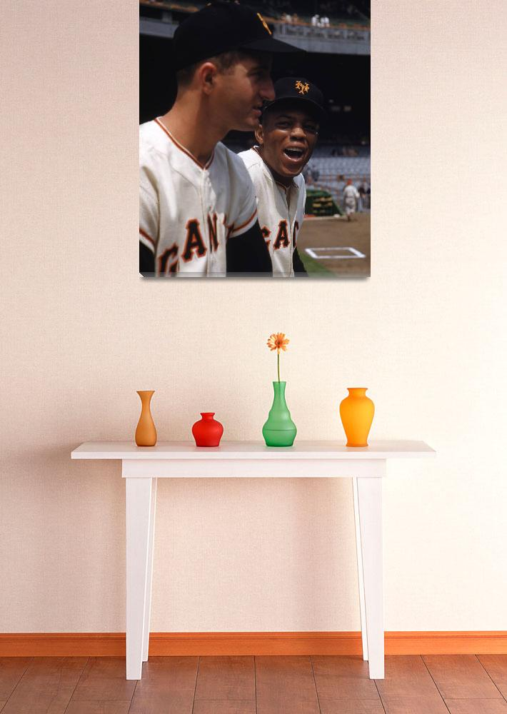 """Willie Mays&quot  by RetroImagesArchive"