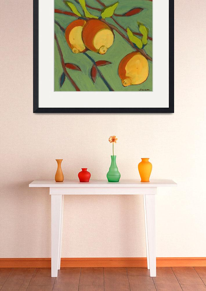 """Three Ripe Lemons&quot  (2008) by JENLO"