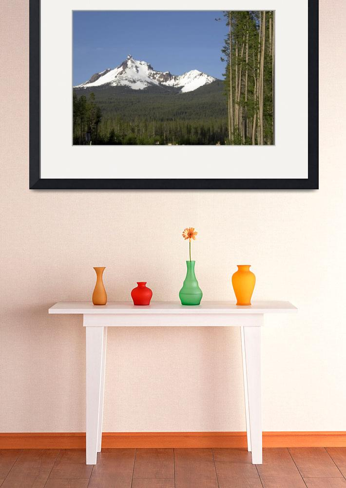 """Mount Thielsen&quot  (2009) by christopherboswell"