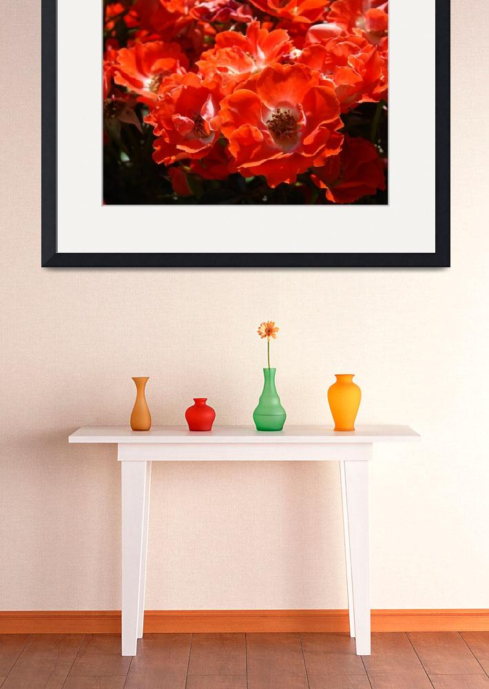 """Christmas Gift Gallery RED ROSES Art Gifts Baslee&quot  (2009) by BasleeTroutman"