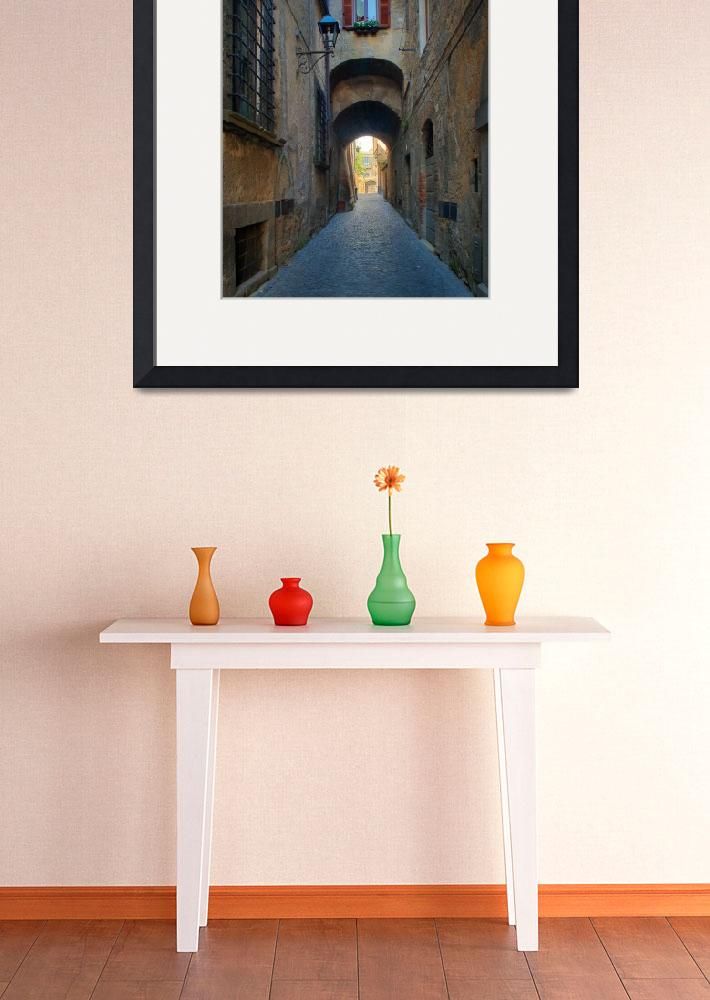 """Orvieto Alley&quot  (2010) by Inge-Johnsson"
