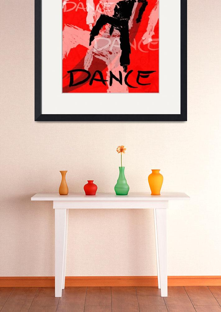 """Dance Poster 6&quot  (2004) by CrystalCarey"