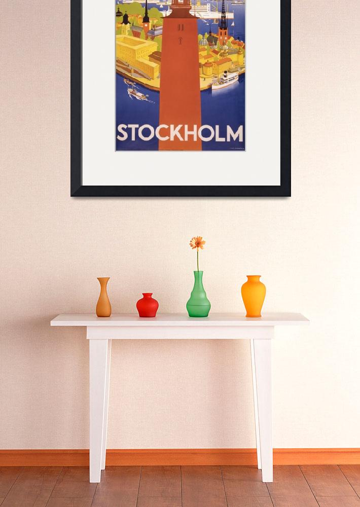 """Travel Stockholm&quot  (2011) by dalidayna"