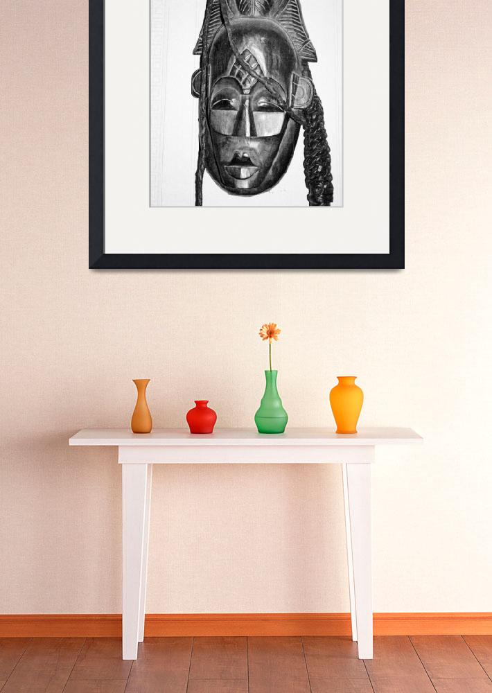 """African mask&quot  by photozrus"